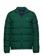 O1. THE PANEL DOWN JACKET - IVY GREEN