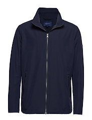 O1. THE COAST MID JACKET - EVENING BLUE