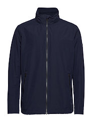 Gant - O1. THE COAST MID JACKET - light jackets - evening blue - 1