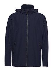Gant - O1. THE COAST MID JACKET - light jackets - evening blue - 2