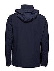 Gant - O1. THE COAST MID JACKET - light jackets - evening blue - 4