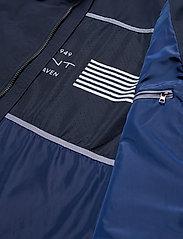 Gant - O1. THE COAST MID JACKET - light jackets - evening blue - 7