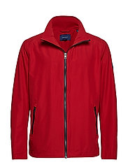 O1. THE COAST MID JACKET - RED