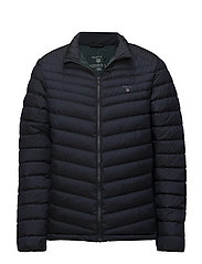 O1. THE AIRLIGHT DOWN JACKET - NAVY