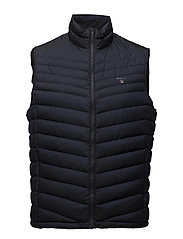 O1. THE AIRLIGHT DOWN VEST - NAVY