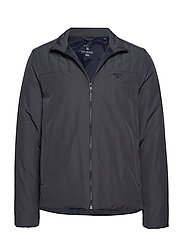 O2. THE PADDED JACKET - CHARCOAL MELANGE
