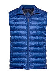 D.1 THE LIGHT DOWN GILET - COLLEGE BLUE