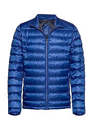 D1. THE LIGHT DOWN JACKET - COLLEGE BLUE