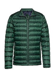 D1. THE LIGHT DOWN JACKET - TARTAN GREEN