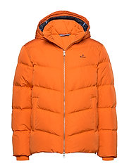 D1. THE ALTA DOWN JACKET - HARVEST PUMPKIN