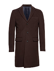 D1. THE CLASSIC WOOL COAT - JAVA