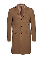 D1. THE CLASSIC WOOL COAT - WARM KHAKI