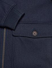 GANT - D2. WOOL FLIGHT JACKET - wool jackets - marine - 4