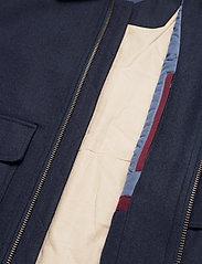 GANT - D2. WOOL FLIGHT JACKET - wool jackets - marine - 6