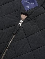 GANT - D1. QUILTED VEST - vests - black - 2