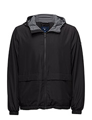 THE REFLECTIVE HOOD JACKET - BLACK