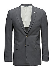 THE SLIM CLUB BLAZER - DARK GREY MELANGE