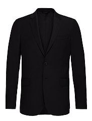 THE TAILORED TRAVELERS SUIT JKT S - BLACK