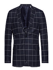 G2. THE WINDOWPANE SPORTS COAT - PERSIAN BLUE