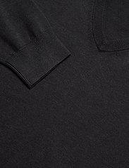 GANT - CLASSIC COTTON V-NECK - knitted v-necks - dk charcoal melange - 2