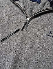GANT - CLASSIC COTTON HALF ZIP - half zip - dark grey melange - 2