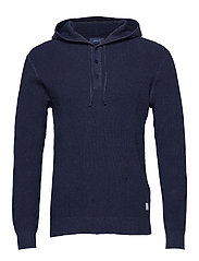 O2. PULL OVER HOODIE - EVENING BLUE