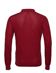 O2. COTTON CASHMERE TEXTURED POLO