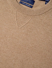 GANT - D1. WOOL CASHMERE  C-NECK - basic knitwear - warm khaki - 2