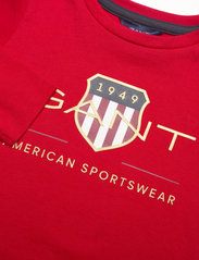 GANT - ARCHIVE SHIELD LS T-SHIRT - long-sleeved - equestrian red - 2