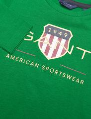 GANT - ARCHIVE SHIELD LS T-SHIRT - long-sleeved - lavish green - 2