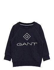 GANT LOCK-UP SWEAT C-NECK - EVENING BLUE