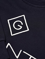 GANT - GANT LOCK-UP SWEAT C-NECK - sweatshirts - evening blue - 2