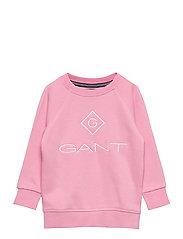 GANT LOCK-UP SWEAT C-NECK - SEA PINK