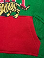 GANT - D2. TIGER HOODIE - hoodies - lavish green - 3