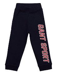 D1. GANT SPORT SWEAT PANTS - EVENING BLUE