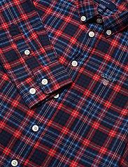 GANT - D1. MICRO TARTAN SHIRT - shirts - atomic orange - 2