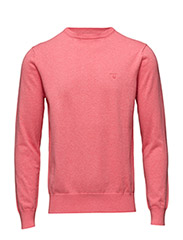 LT. WEIGHT COTTON CREW - PINK EMBRACE MEL.