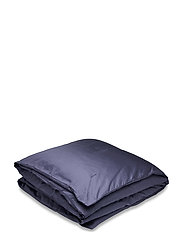 SATEEN DOUBLE DUVET - SATEEN BLUE