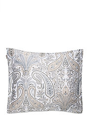 KEY WEST PAISLEY PILLOWCASE - GREY