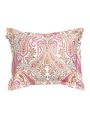 KEY WEST PAISLEY PILLOWCASE - SEA PINK