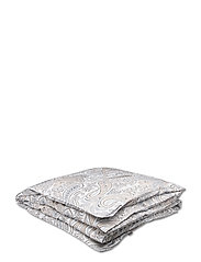 KEY WEST PAISLEY SINGLE DUVET - GREY