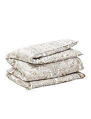 KEY WEST PAISLEY DOUBLE DUVET - PUTTY
