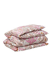 KEY WEST PAISLEY DOUBLE DUVET - SEA PINK