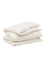 COTTON LINEN GROW DOUBLE DUVET - PUTTY