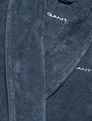 GANT - ORGANIC PREMIUM  ROBE - bathrobes - sateen blue - 2