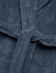 GANT - ORGANIC PREMIUM  ROBE - bathrobes - sateen blue - 4