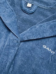 GANT - VACAY ROBE - sous-vêtements - moonlight blue - 2