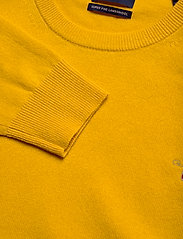 GANT - SUPERFINE LAMBSWOOL CREW - basic knitwear - ivy gold - 2