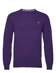 SUPERFINE LAMBSWOOL CREW - PARACHUTE PURPLE