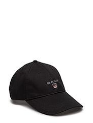 GANT TWILL CAP - BLACK